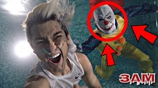 DO NOT GO SWIMMING POOL AT 3AM!! *OMG SO SCARY*