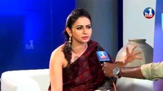 Rakul Preet Singh Face to Face About Sarainodu | No.1 News Exclusive || No.1 News