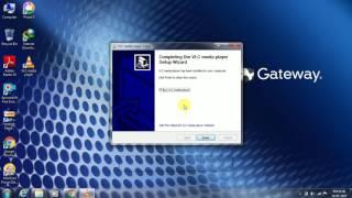 Playing DAV files into VLC media Player