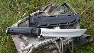 Нож SENPAI Kizlyar Supreme. 森の戦士