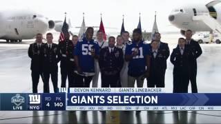 Giants Select RB Wayne Gallman No. 140