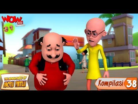 Kompilasi - 38 | Motu Patlu dalam Bahasa - Animasi 3D Kartun | WowKidz Indonesia