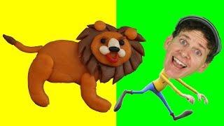 Favorite Animal Song   Wild Animals for Kids   Original Songs by Matt   Learning English