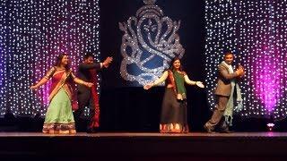 Sheenal,Shivani, Om & Kartik's Dance @ Dixita & Anand's Engagement