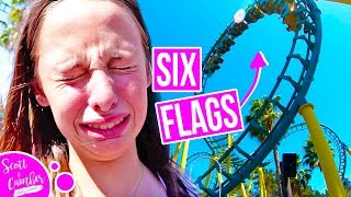 GETTING SICK AT SIX FLAGS DISCOVERY KINGDOM...