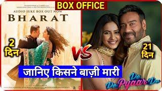 Box Office Collection, Bharat Movie, De De Pyar De Movie, Salman Khan, Ajay Devgan, Akb Media,
