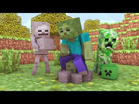 Minecraft Escola Monstro 32 Como Ser Um Pai Monstro Monster School