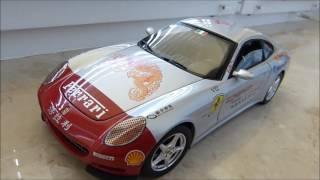 1:18 Hot Wheels Elite 2005 Ferrari 612 Scaglietti - Tour of China