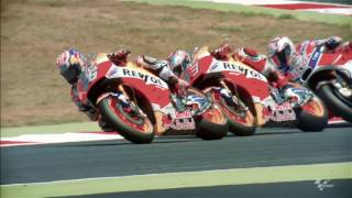 2017 #CatalanGP - Honda in action