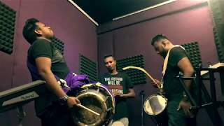 Dj Gan's Jamming Session with Santesh & Alagendra ( Indian Percussion)