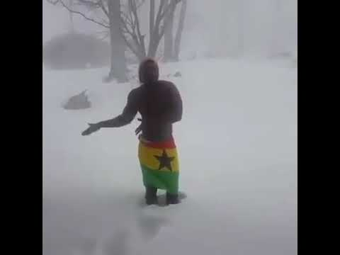 Xxx Mp4 GHANAIAN WALKS OUT NAKED IN HEAVY STORM SNOW 3gp Sex