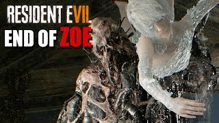 Resident Evil 7 End of Zoe Gameplay German #04 - Das Ding hat Zoe
