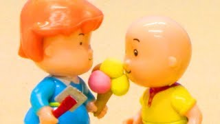 Funny Animated cartoons Kids | EATING ICE CREAMS | WATCH ONLINE | Caillou Stop Motion