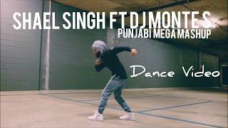 Punjabi Mega Mashup Shael Singh Ft Dj Monte S , Dance Video ,