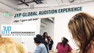 JYP GLOBAL AUDITION 2018 + tips and experience