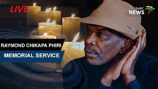 South African jazz musician Ray Phiri Memorial Service