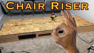 Home Theater Chair Riser - DIY (Part 1)