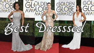 Golden Globe Awards 2017 Top 10 Best Dressed-Priyanka Chopra|Viola Davis|Mandy Moore & more!