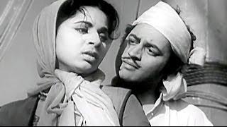 Guru Dutt, Geeta Bali, Johnny Walker, Baaz Scene - 7/11
