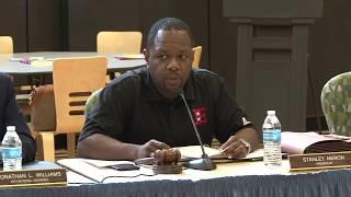 Elizabeth Public Schools Board of Education Special  Meeting 5/20/17 Part 1
