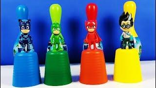 PİJAMASKELİLER İLE RENKLERİ ÖĞRENİYORUM L Learn Colors With PJ MASKS