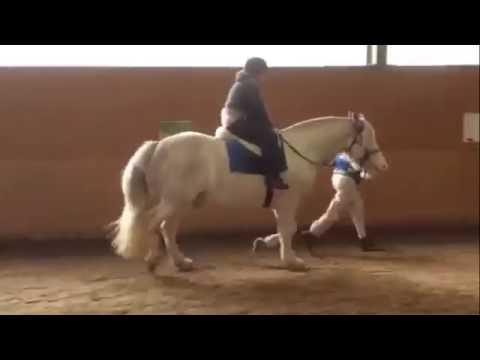 Me riding Charlie the horse xxx