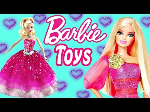 BARBIE TOY EPISODES ★ Fashion Styles Play Doh Mermaids Frozen Doll Videos