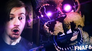 SPRINGTRAP?! WHAT THE FREAK HAPPENED. || Five Nights At Freddy's 6 (Part 2)