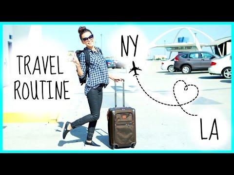My Travel Routine Flight Essentials