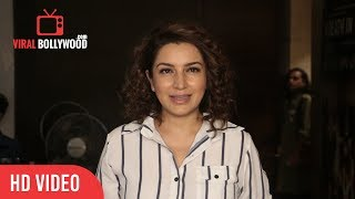 Tisca Chopra At A Death in the Gunj Special Screening   Viralbollywood