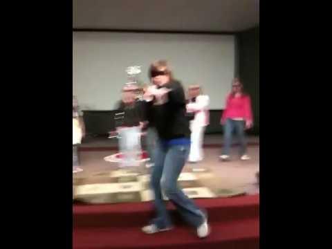 Jingle Bell Rap: Featuring  Rebecca Partain (School Principal) 12-11-2009.MOV