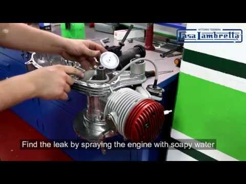 Casa Lambretta SS Performance kit fitting guide pressure test