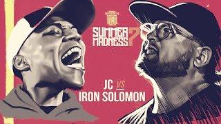 IRON SOLOMON VS JC SMACK RAP BATTLE| URLTV