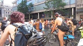 WNBR World Naked Bike Ride London 2013