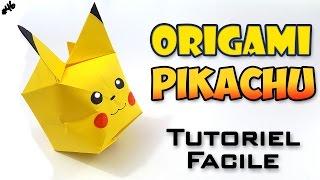 Origami Pikachu - Tutoriel Facile - Version Française