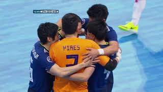 Japan 2-0 Bahrain (AFC Futsal Championship 2018: Quarter-Finals)