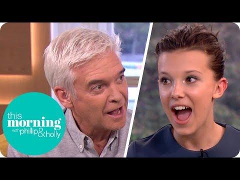 Phillip Makes Stranger Things Star Millie Bobby Brown Swear This Morning