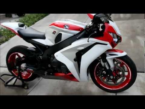 2008 Honda CBR 1000RR Fireblade Custom Paint RC51 SP1 Wheels FMF Apex Exhaust