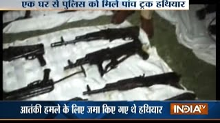 Pakistan : Huge Cache Of Weapons Recovered From A House In Karachi