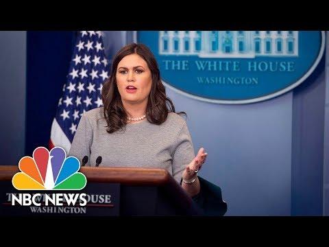 Xxx Mp4 White House Press Briefing Full December 11 2017 NBC News 3gp Sex