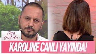 Karoline ile Murat canlı yayında! - Esra Erol 7 Eylül 2017