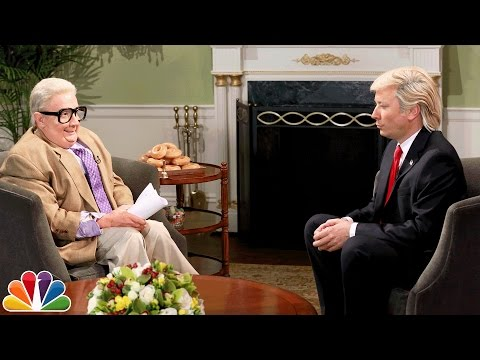 Jiminy Glick Interviews Donald Trump on His First 100 Days