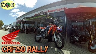 Honda CRF250 Rally: First impressions review (Australia)