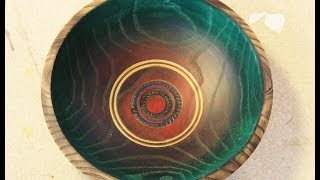 Decorating a Bowl: Woodturning by Sam