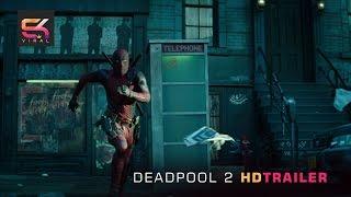 DEADPOOL 2 Official Trailer 2018 Ryan Reynolds & Stan Lee - SK Viral