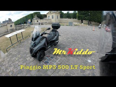 Xxx Mp4 Test Riding The Piaggio MP3 500 LT Sport 3gp Sex