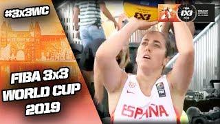 Spain v Iran   Women's Full Game   FIBA 3x3 World Cup 2019