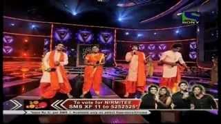Nirmitee's cheerful performance on Bappa Morya Re- X Factor India