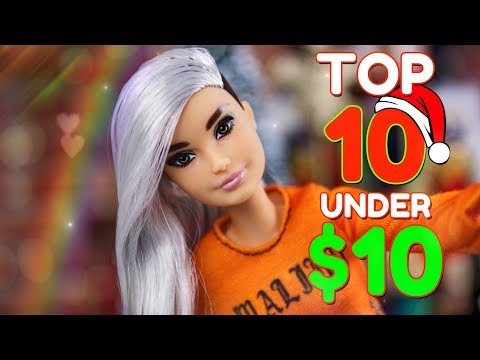 Xxx Mp4 TOP 10 Christmas Gifts Under 10 RANKED Barbie LOL Surprise Fresh Dolls Amp More 3gp Sex