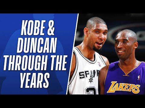 Kobe Bryant and Tim Duncan Through